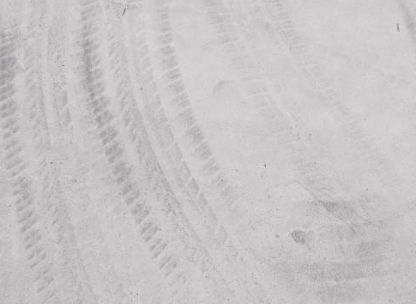 tire marks on concrete
