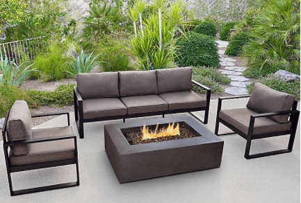 fresh smelling outdoor couch
