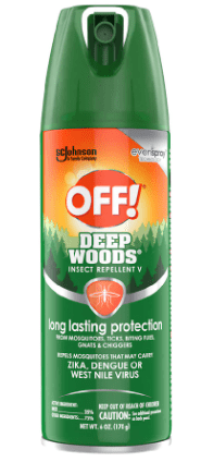 Off-Deep Woods Insect repellent