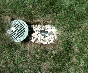 A French drain